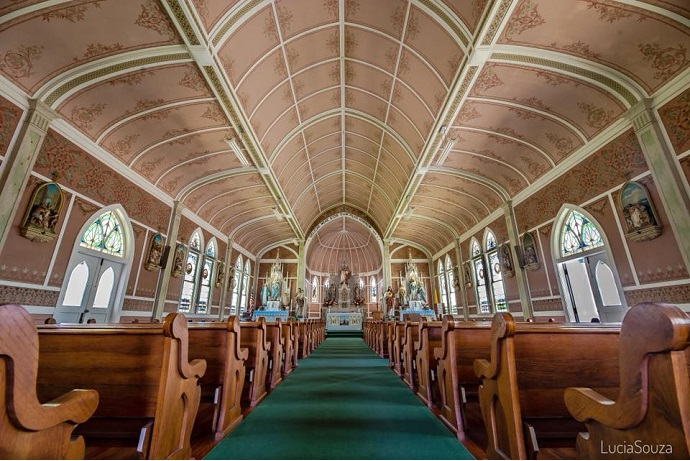 A History in Color: The Painted Churches of Schulenburg, Texas
